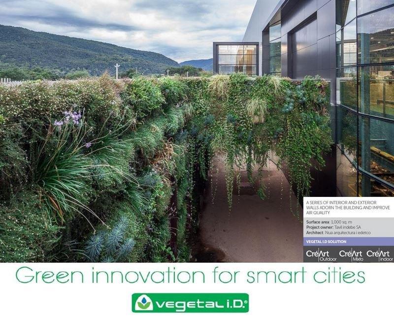 living wall Spain vegetalid