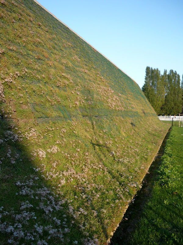 Steeply sloping green roof with HYDROPACK®, Deauville (14)