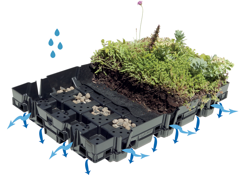 Features Of The Hydropack 174 Tray Vegetal I D