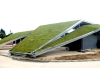 Green roof on a Water purification station
